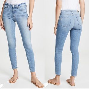 Paige Hoxton Ankle Skinny Jeans Soto